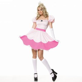 Princess peach costume