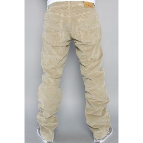 Lrg core collection the grass roots true straight corduroy pants in british khaki,pants for men