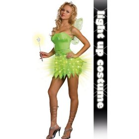 Brite sprite (light-up) adult costume