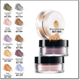Smooth minerals eyeshadow in breeze