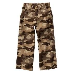 Infant toddler boys' cherokee® basic camoflauge cargo pant