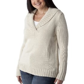 Womens' plus-size merona® polar bear v-neck pullover shawl sweater