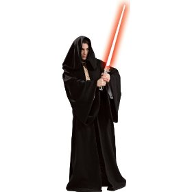 Star wars deluxe sith robe adult costume - adult costumes
