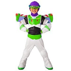 Disney light-up buzz lightyear costume for boys