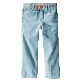 Infant toddler girls' genuine kids from oshkosh blue corduroy pant