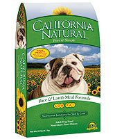 California Natural Low Fat Lamb Meal & Rice Adult Dog Food - 5 lb