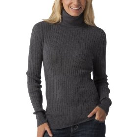 Merona® women's cable turtleneck sweater - heather grey