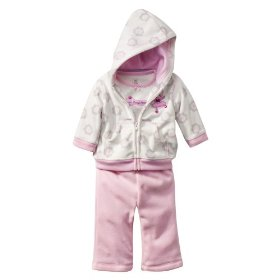 Newborn girls' just one you made by carter's ® white/pink 3 pc princess set