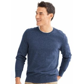 Banana republic exposed seam crewneck sweater