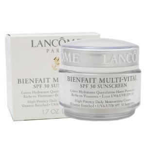 Lancome Bienfait Multi-Vital By Lancome For Women. High Potency Daily Moisturizing Cream Vitamin Enr