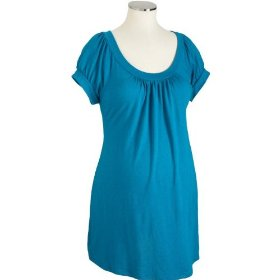 Old navy maternity gathered scoop-neck tunics