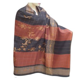 Handmade kashmiri embroidered wool shawl very special and hot selling gift shwl0089r