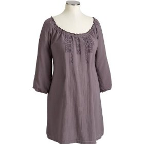 Old navy maternity embroidered tunic dresses
