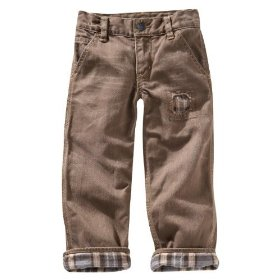Gap carpenter jeans (flannel lined brown wash)