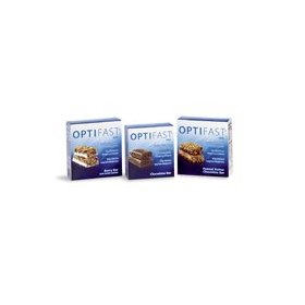 Optifast 800 chocolate meal replacement bars 1 carton (7 bars)