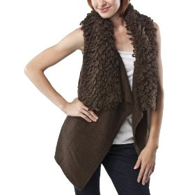 Mossimo® women's loop colllar sweater vest - brown