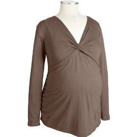 Old navy maternity plus twist-front v-neck tops