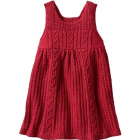 Gap cable knit jumper dress