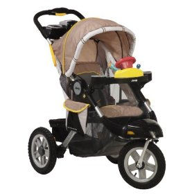 Jeep liberty limited 3 wheel all terrain stroller