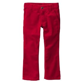 Infant toddler girls' cherokee® red corduroy pant