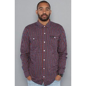 Lrg the cascade buttondown shirt in black,buttondown shirts for men