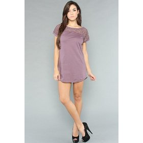 Ezekiel the chantilly dress in plum,dresses for women