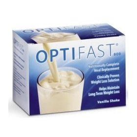 Optifast 800 strawberry shake powder sachet 1 carton (7 packets)