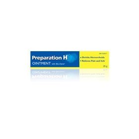 Canadian preparation h ointment with bio-dyne huge 75 gram size. bio-dyne, a natural yeast cell extr