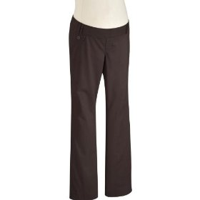 Old navy maternity real-waist stretch twill pants