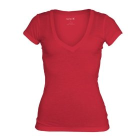 Hurley juniors yc solid perfect v neck tee