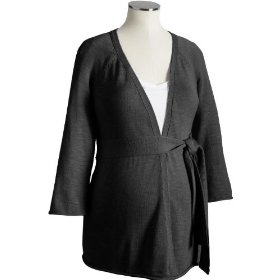 Old navy maternity tie-front draped cardigans