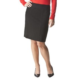 Merona® collection women's erin knit twill skirt - black
