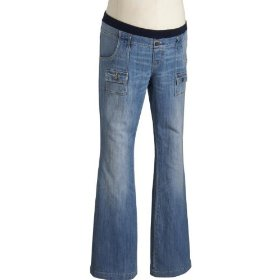 Old navy maternity low-rise super-flare jeans