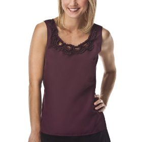 Merona® collection women's sonia top - plum passion