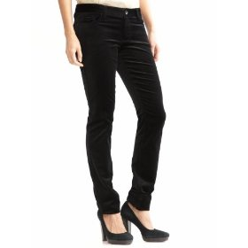 Banana republic petite five-pocket velvet skinny jean