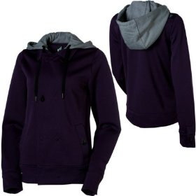 Volcom jalk novelty full-zip hooded sweatshirt - women's