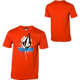 Volcom poster stencil t-shirt - short-sleeve - men's