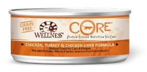 Wellness Grain-Free Canned Cat Food, 24-Pack of 5-1/2-Ounce Cans