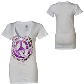 Element peace t-shirt - short-sleeve - women's