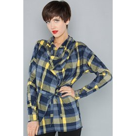 Wesc the trudi top in jazz blue,tops (l/s) for women