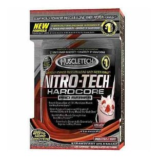 Muscletech nitro tech pro series strawberry