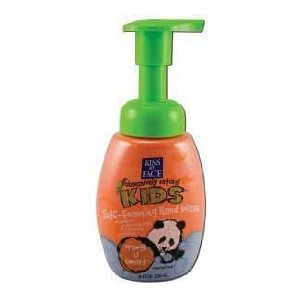 Kiss my face kids handwash foam 8 oz. orange-u-smart