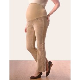 Motherhood maternity: petite secret fit belly(tm) corduroy 5 pocket boot cut maternity pants
