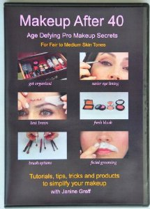 Makeup After 40 DVD Tutorial + 2 Free Products (Lip Stain and Pencil) - Age Defying Pro Makeup Secre