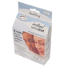 Godefroy instant eyebrow tint permanent eyebrow color kit eyebrow makeup
