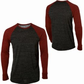 Hurley staple triblend crew - long-sleeve - men's