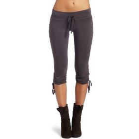 Hknb heidi klum for new balance womens ruched cropped pant