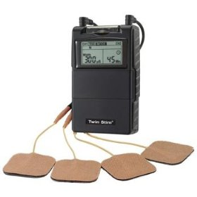 Twin-stim 2nd edition combo digital tens unit & ems muscle stimulator w/ timer - most popular unit