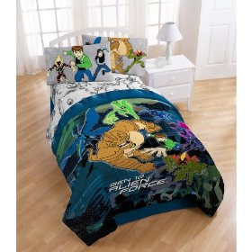 Ben 10 sheet set- white