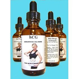 Yavonae hcg drops 3x formula, homeopathic 2 fl oz 60ml, 16% alcohol